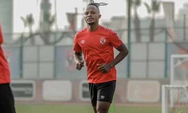 File- Al Ahly's Congolese striker Walter Bwalya