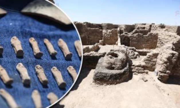 File: The new uncovered lost city in Luxor.