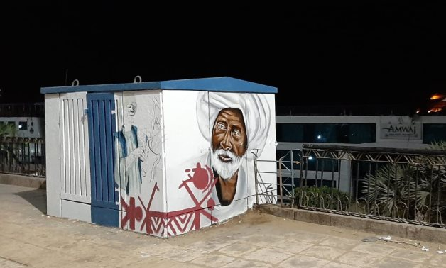 Turning electricity kiosks into art pieces in Aswan