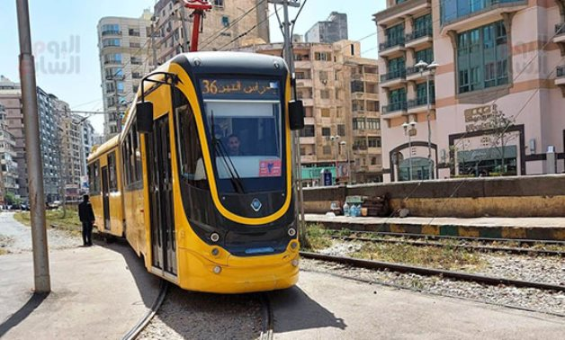 New tram vehicles manufactured in Ukraine and imported to Alexandria