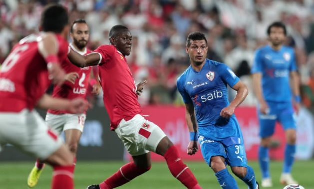 File- Al Ahly and Zamalek will meet for the 15th time in Ramadan