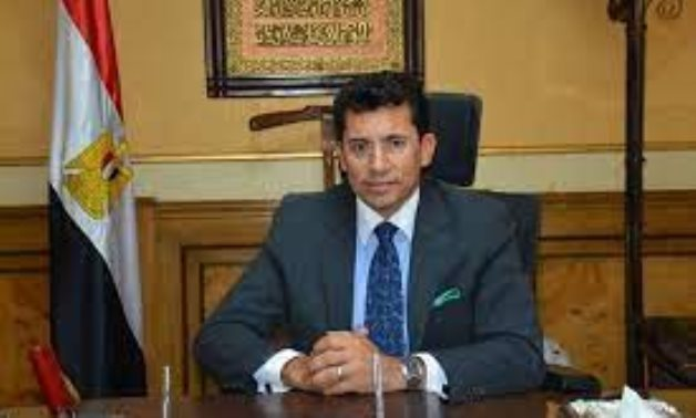 FILE – Minister of Youth and Sports Ashraf Sobhy