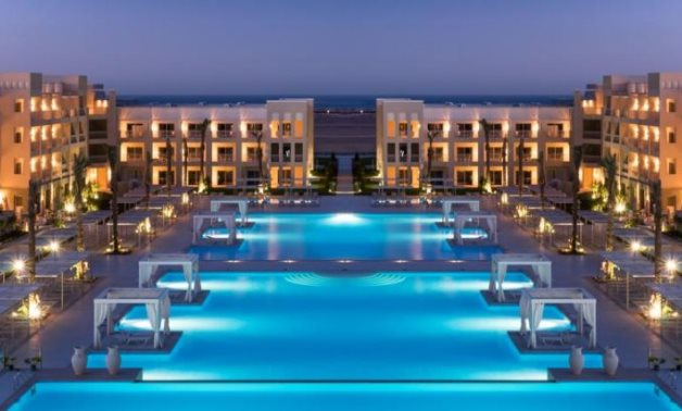 FILE - Resort in Egypt