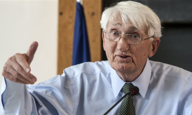 FILE - German Philosopher Jürgen Habermas