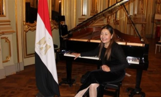 FILE - International Pianist Mushira Issa