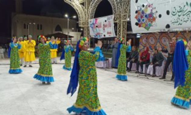 FILE - Previous performance of the Ramadan Nights Festival
