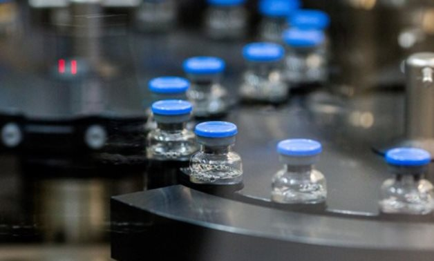 Vials of investigational coronavirus disease treatment drug remdesivir are capped at a Gilead Sciences facility in La Verne, California, U.S. March 18, 2020. Picture taken March 18, Gilead Sciences Inc/ REUTERS