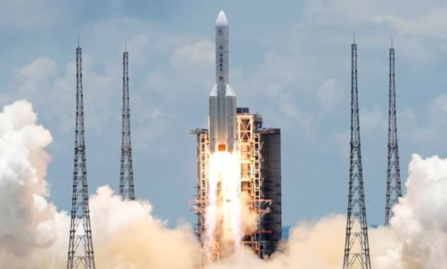 The Long March 5 Y-4 rocket, carrying an unmanned Mars probe of the Tianwen-1 mission, takes off from Wenchang Space Launch Center in Wenchang, Hainan Province, China July 23, 2020. Reuters