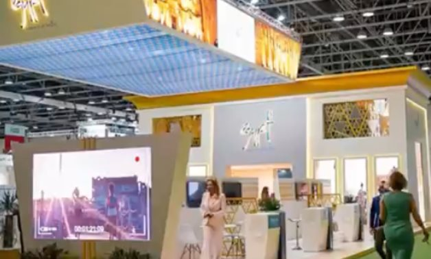 The Egyptian Pavilion participating in 28th Arabian Travel Market 2021 in UAE - Min. of Tourism & Antiquities