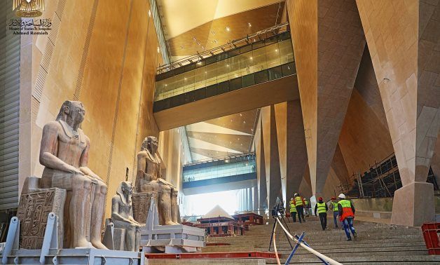 Grand Egyptian Museum - Ahmed Roumeih