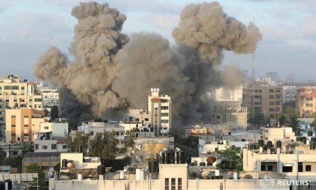 Israeli fighter jets attack civilian targets in Gaza, Jabalia and Beit Lahiya - REUTERS