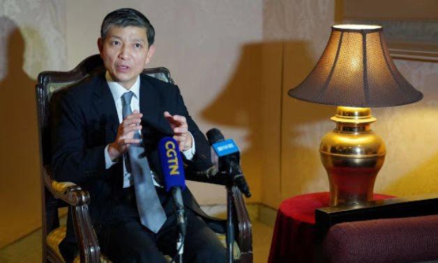 FILE - Chinese Ambassador to Cairo Liao Liqiang – Chinese Embassy in Cairo