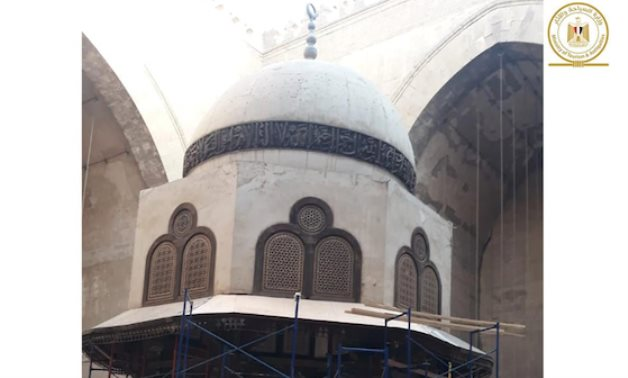 Ablution fountain dome of Sultan Hassan Mosque - Ministry of Tourism & Antiquities