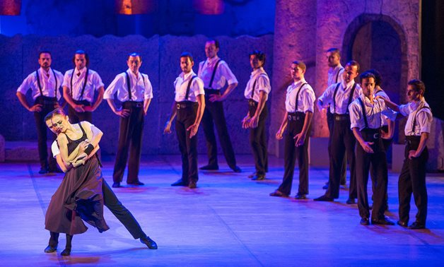 Previous Ballet Zorba performed in Cairo's Opera House - ET