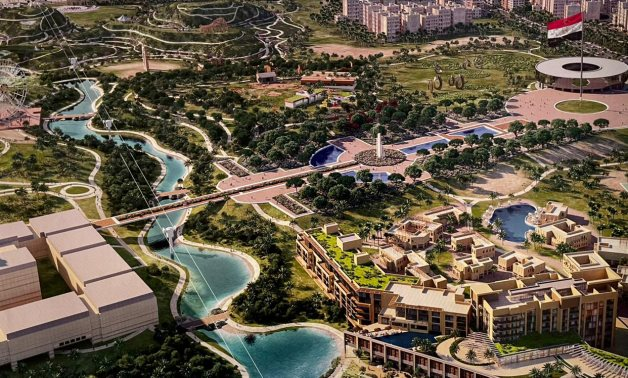The Fustat Hills Park Project once completed - SIS