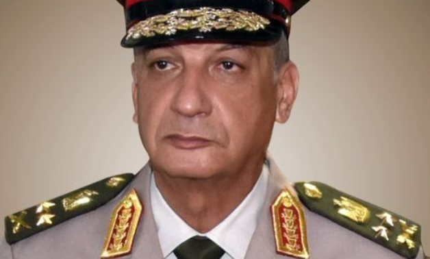 Mohamed Zaki, Egypt's minister of defense and military production  - Press photo