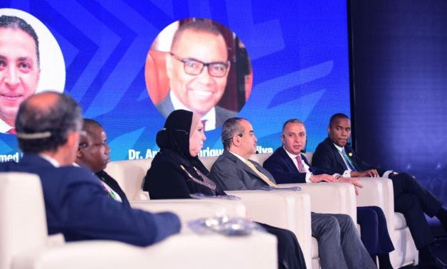 Panel in IPAs Africa Forum 1 including Chairman of Angola Agency for Private Investment and Promotion of Exports (AIPEX) Antonio Henriques da Silva on June 12, 2021. Press Photo