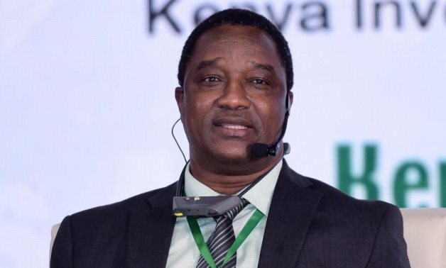 Managing Director of Kenya Investment Authority (KenInvest) Moses Ikiara in IPAs African Forum 1 on June 13, 2021. Press Photo