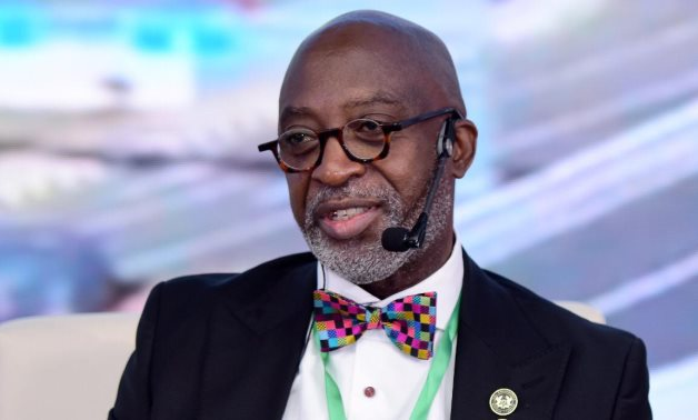 CEO of Ghana Investment Promotion Center (GIPC) Yofi Grant in IPAs African Forum 1 on June 13, 2021. Press Photo