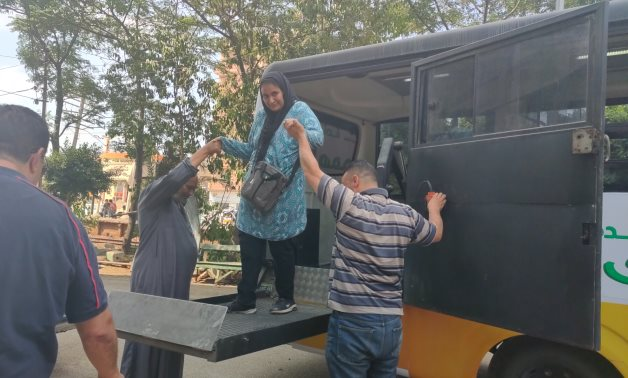 Minibus for physically-challenged passengers operate in Sharqia
