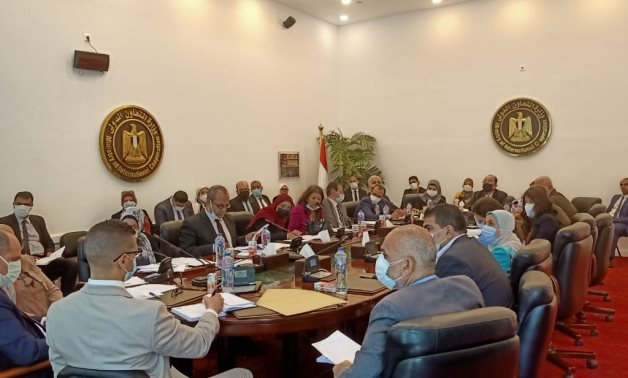 Minister of International Cooperation holds Coordination Meeting in Preparation of 1st Session of the Joint Higher Committee Between Egypt and South Sudan