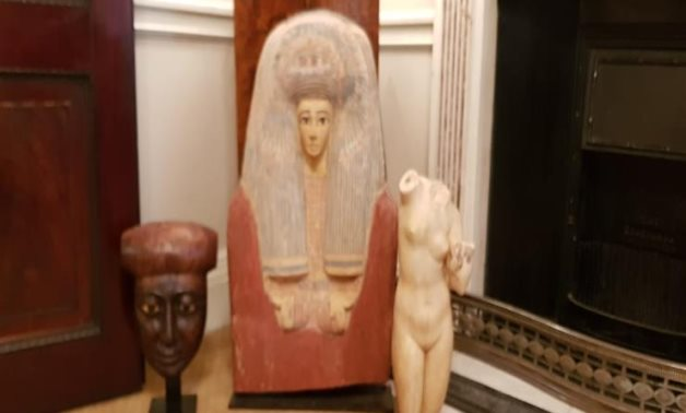 Egyptian embassy in London restores 3 ancient artifacts - Egyptian Ministry of Tourism