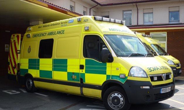 Ambulance vehicles - FILE