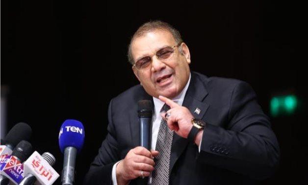 FILE - Egyptian businessman Hassan Rateb