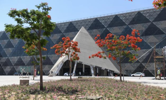 Grand Egyptian Museum - Min. of Tourism & Antiquities