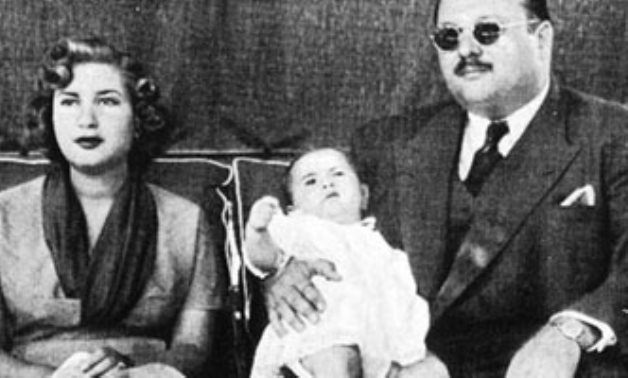 King Farouk I and his family - ET