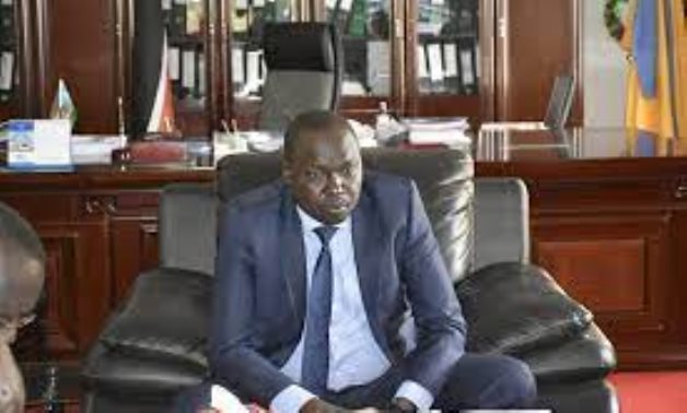 FILE - South Sudan Minister of Irrigation Manawa Peter – Official Facebook page of the ministry
