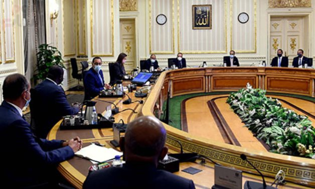 Prime Minister Mostafa Madbouli in meeting with CEO of the African Funding Corporation (AFC) Samaila Zubairo and the accompanying delegation in Cairo, Egypt on July 28, 2021. Egypt Today/Soliman al-Atify