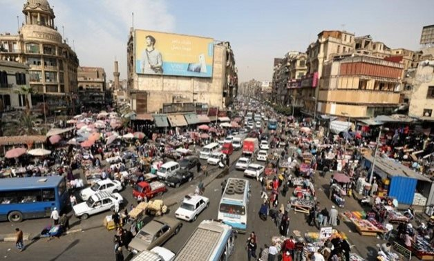 A general view of a street in downtown Cairo, Egypt March 9, 2017. Picture taken March 9, 2017. REUTERS