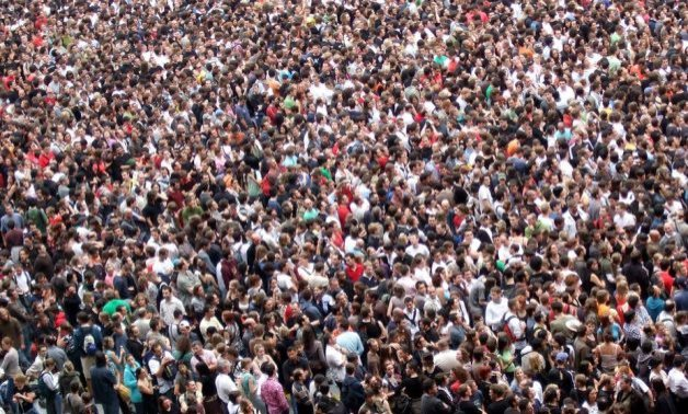 FILE - Overpopulation in Egypt