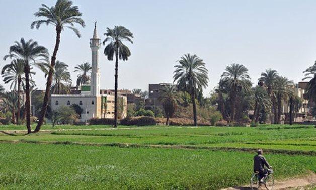 FILE - Egyptian village