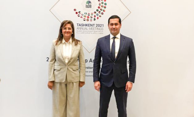 Egypt's Minister of Planning meets Deputy Prime-Minister for Investments and Foreign Economic Affairs - Minister of Investments and Foreign Trade of Uzbekistan Republic