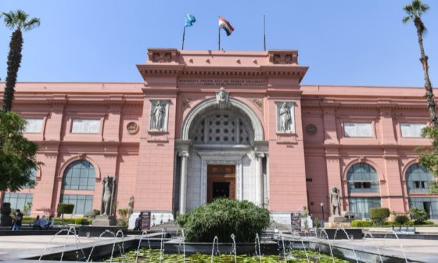 FILE - Egyptian Museum in Tahrir