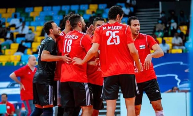 File- Egypt men's volleyball team