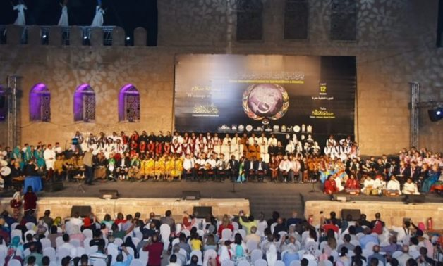 Samaa International Festival for Chanting & Spiritual Music in a previous edition - ET
