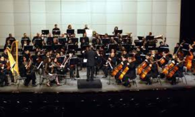 FILE - Cairo Symphony Orchestra