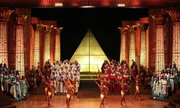 FILE - Opera Aida