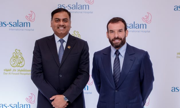 Alameda Chairman and Owner Dr. Fahad Khater and Alameda Healthcare CEO, Neeraj Mishra