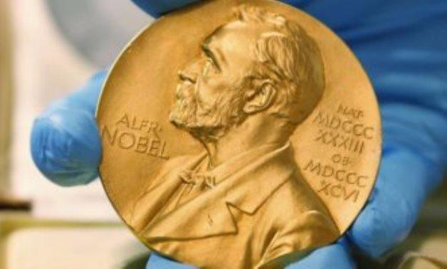 FILE - Nobel Prize