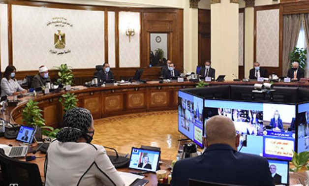A cabinet meeting