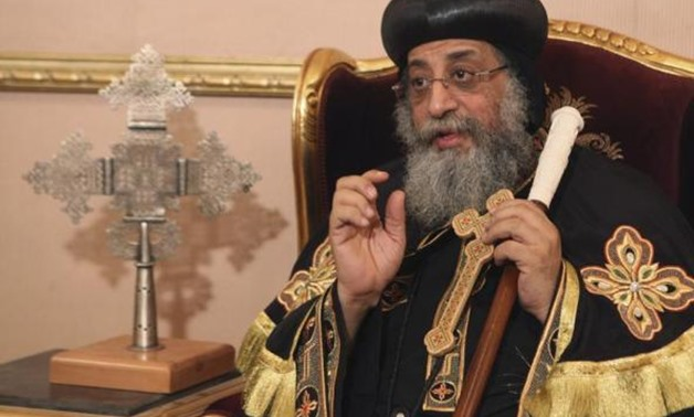 Pope Tawadros visits Egyptian consulate in Marseille