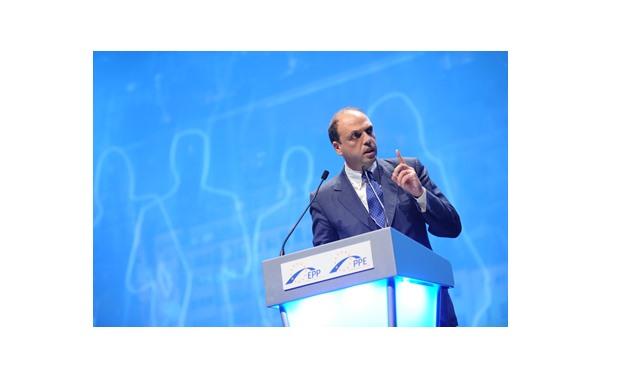 Italian Foreign Minister Angelino Alfano – Press Photo
