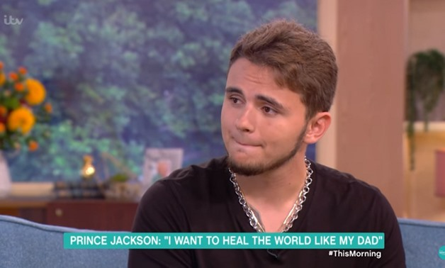 Picture of Prince Jackson's interview via Youtube
