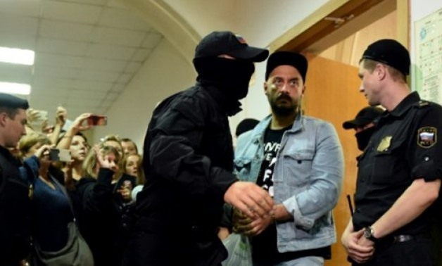 "© AFP/File | Serebrennikov has denounced the charges against him as ""absurd"""