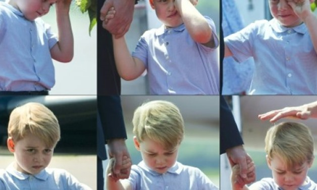 © AFP/File / by Dario THUBURN, Alice RITCHIE   Britain's Prince George is third in line to the throne