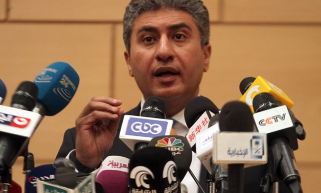 Minister of Civil Aviation Sherif Fathy - File photo